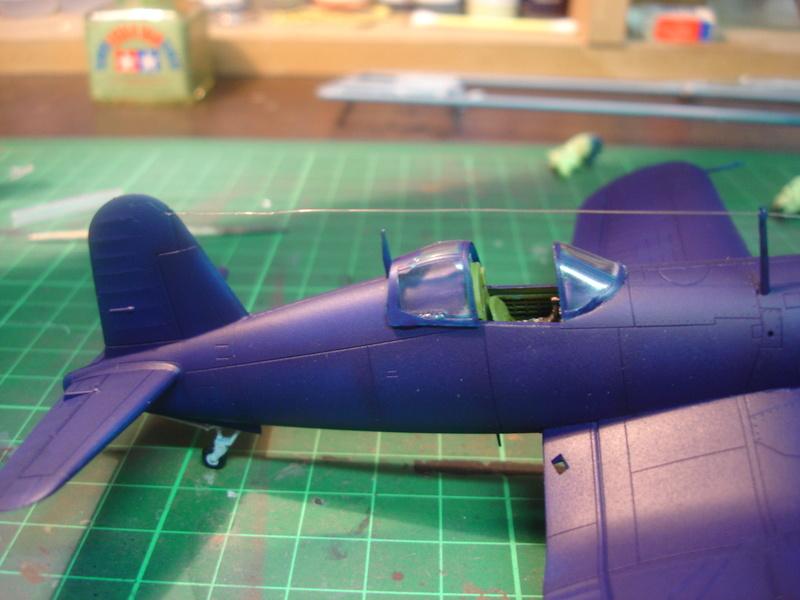 F4U-1 US Navy fighter ACADEMY HOBBY MODEL 1/72 Dsc00051