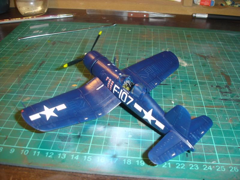 F4U-1 US Navy fighter ACADEMY HOBBY MODEL 1/72 - Page 2 Dsc00056
