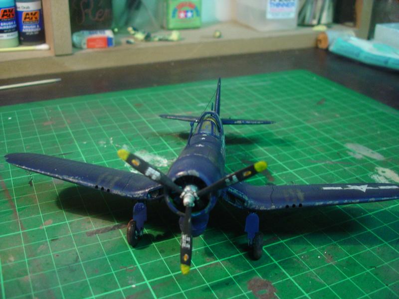 F4U-1 US Navy fighter ACADEMY HOBBY MODEL 1/72 - Page 2 Dsc00060