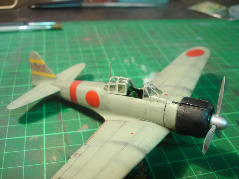 Mitsubishi A6M2b TAMIYA 1/72 - Page 2 Dsc00132