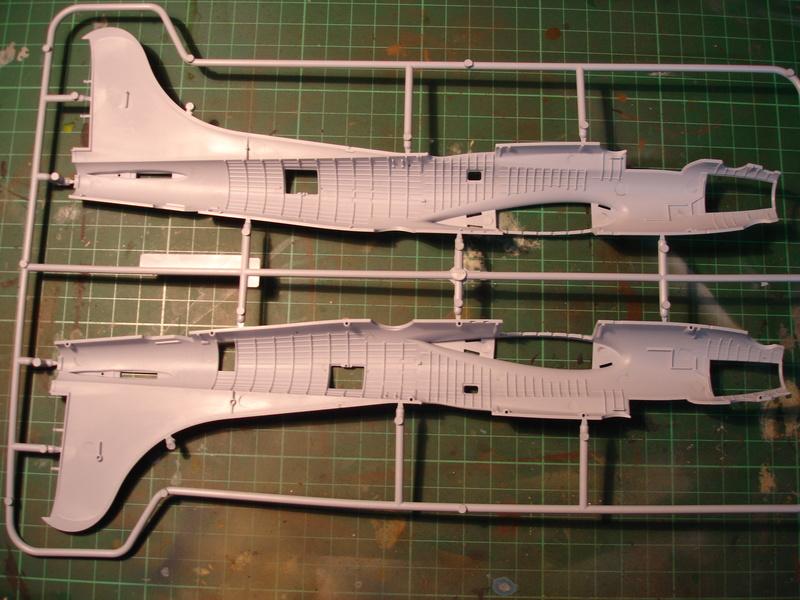 Boeing B-17G Flying fortress 1/72 Airfix Dsc00168