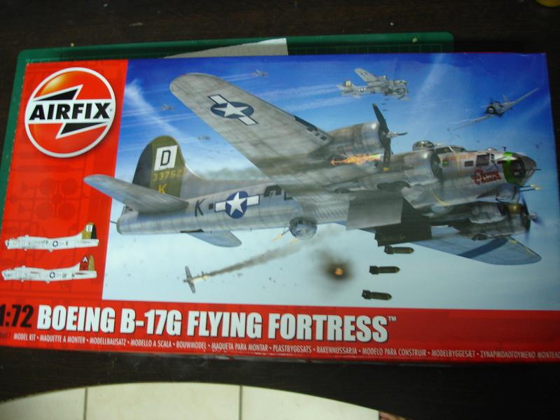 Boeing B-17G Flying fortress 1/72 Airfix Dsc00172