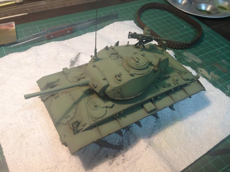 M24 Chaffee - The first Indochina war - AFV Club 1/35 Img_2010