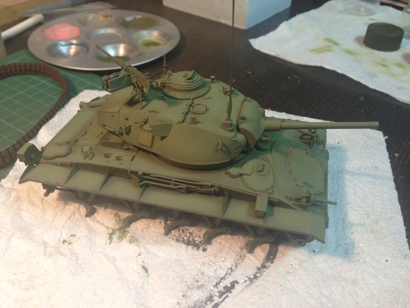M24 Chaffee - The first Indochina war - AFV Club 1/35 Img_2012