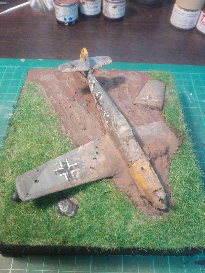 Messerschmitt Bf109 crash 1/72 Img_2020