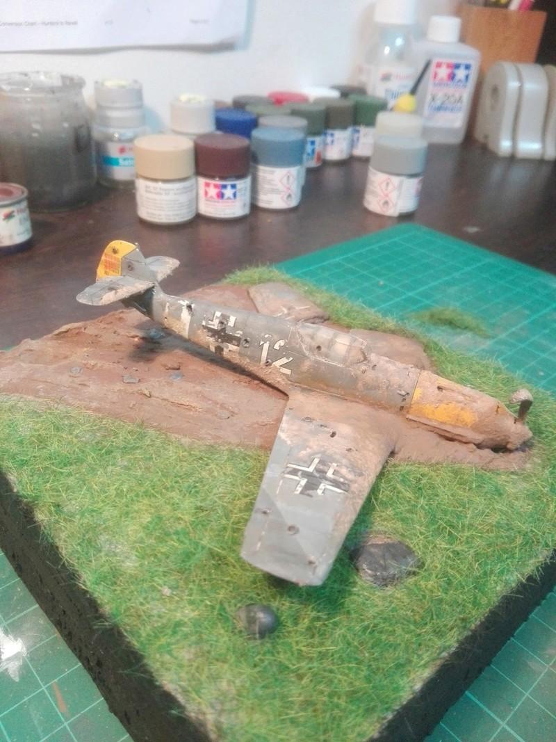 Messerschmitt Bf109 crash 1/72 Img_2021