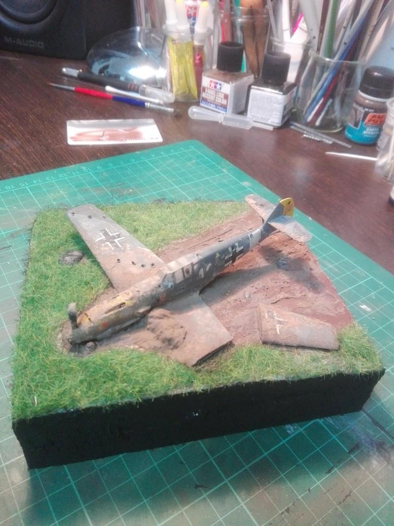 Messerschmitt Bf109 crash 1/72 Img_2022