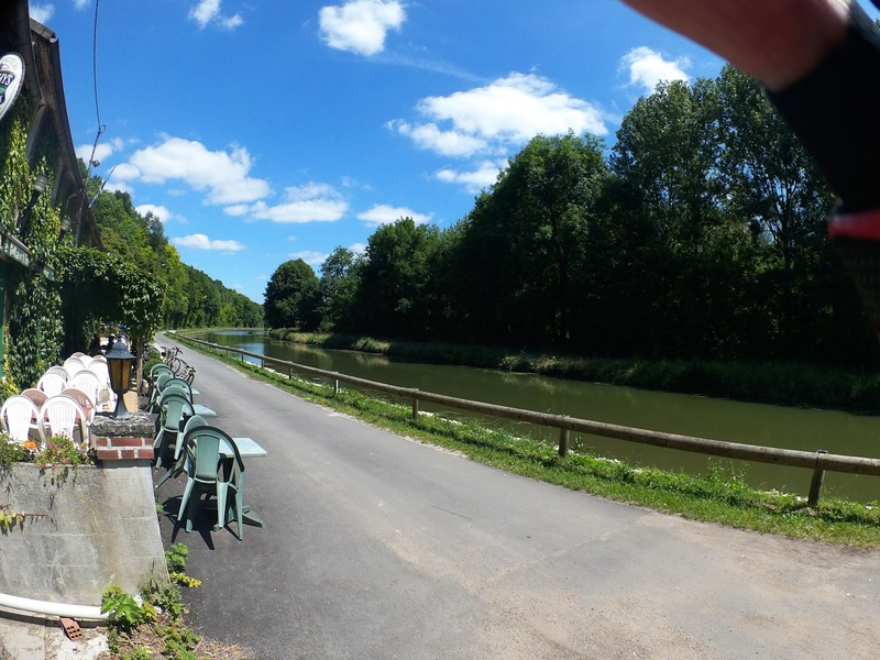 Eurovélo 3, canal du Loing, canal de Briare Canalo13