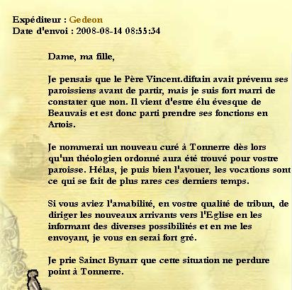 [Archive] Messages de Monseigneur Gedeon Messag10