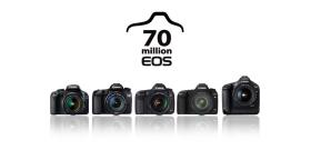 70 millions de boîtiers EOS pour Canon