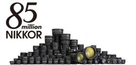 85 millions d'objectifs Nikkor pour Nikon