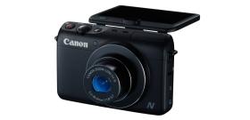 Nouveau compact Canon PowerShot N100 avec deux objectifs