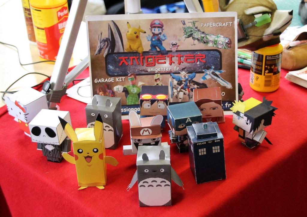 Japan Expo #18, du 6 au 9 juillet. Aniget13