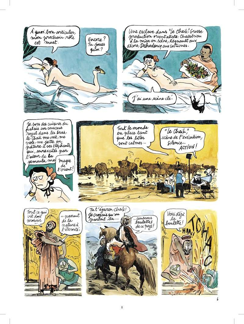 [BD] Catherine Meurisse A1542