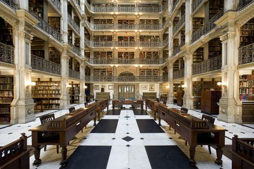 Des bibliothèques prestigieuses. A97