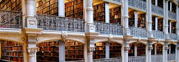 Des bibliothèques prestigieuses. A98