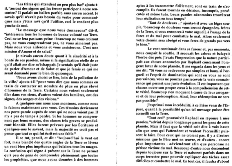 UNE EXPERIENCE VECUE PAR L'ITALIEN GIORGIO DIBITONTO - CONTACT du 3ème TYPE... 3810