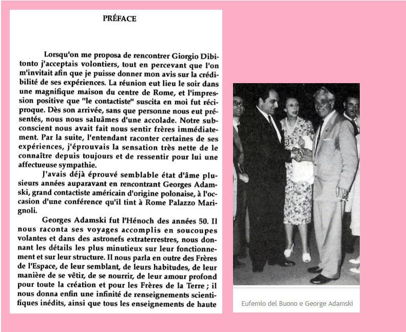 UNE EXPERIENCE VECUE PAR L'ITALIEN GIORGIO DIBITONTO - CONTACT du 3ème TYPE... Prefac11