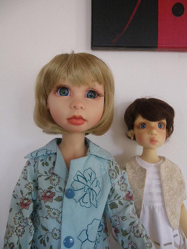 chloé a sa nouvelle coiffure Imgp2412