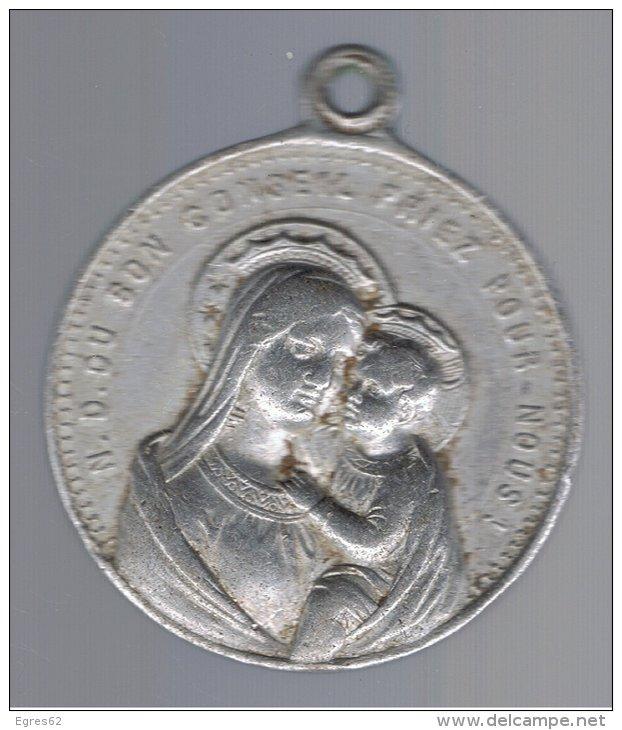 Médaille St-Ignace-de-Loyola & ND-du-bon-conseil ou du-bon-secours - XVIIIème 212_0010