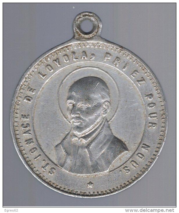 Médaille St-Ignace-de-Loyola & ND-du-bon-conseil ou du-bon-secours - XVIIIème 212_0011