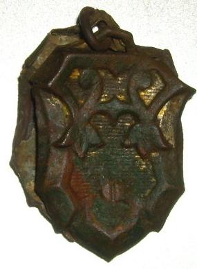 Objet double avec attache - non religieux - fin XIXème Imgp9413