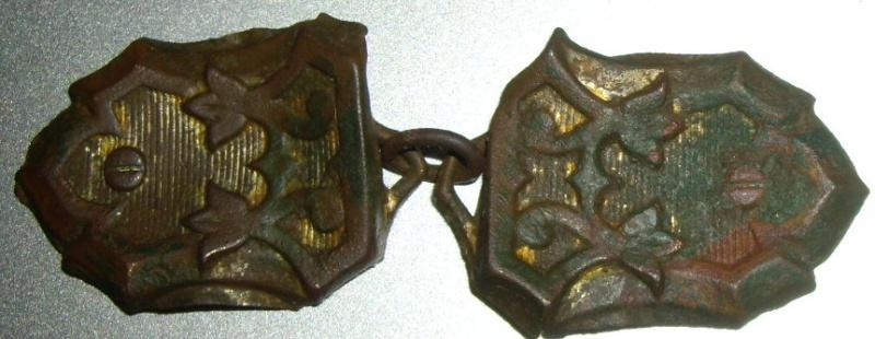 Objet double avec attache - non religieux - fin XIXème Imgp9415