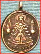 Médaille ND-de-Liesse & Jésus - XVII/XVIIIème Notre-10