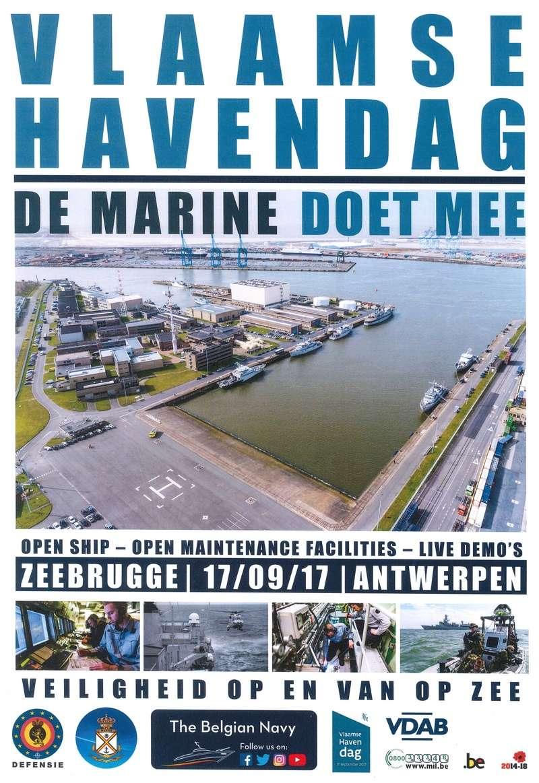 Vlaamse Havendag  17 septembre 2017  Caserne ouverte Rrt10