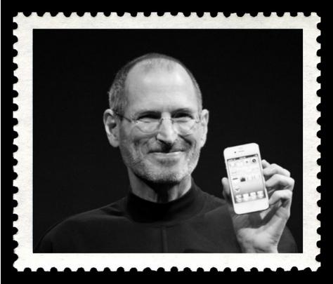 In Gedenken: Steve Jobs erhält eigene Briefmarke Hund10
