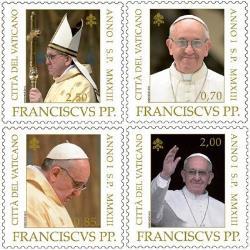 Auch Papst Franziskus bekommt eine Briefmarke Hund11