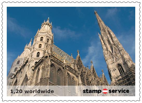 1.privaten Briefmarken Österreich Marken10