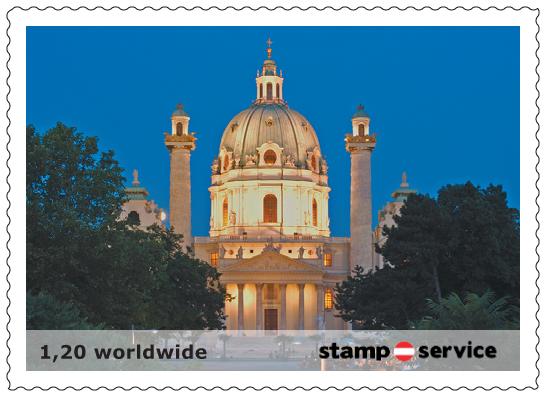 1.privaten Briefmarken Österreich Marken12