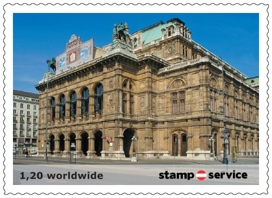 1.privaten Briefmarken Österreich Marken14