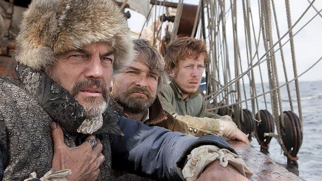 Дерек в роли мореплавателя