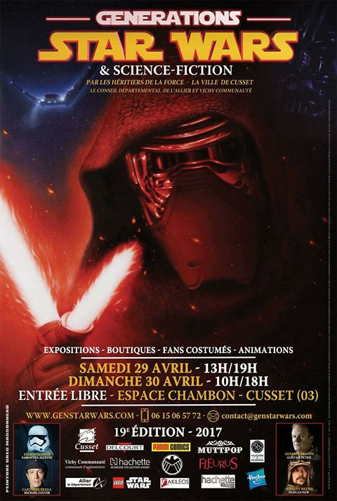Générations Star Wars & SF - Cusset 29-30 Avril 2017 - Page 2 16904810