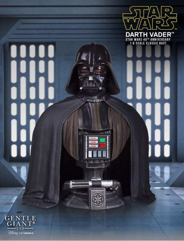 Gentle Giant - Darth Vader Star Wars 40th mini bust SDCC Captur22