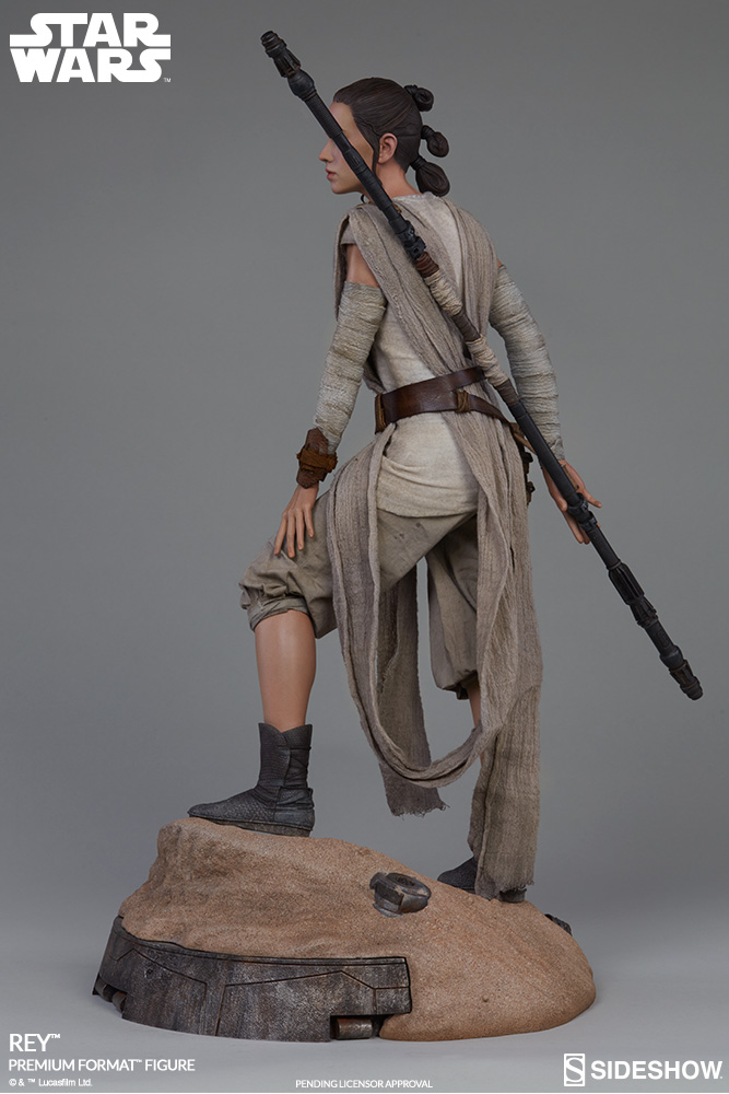 Sideshow Collectibles -Rey & BB-8 Premium Format Figure  Star-w10