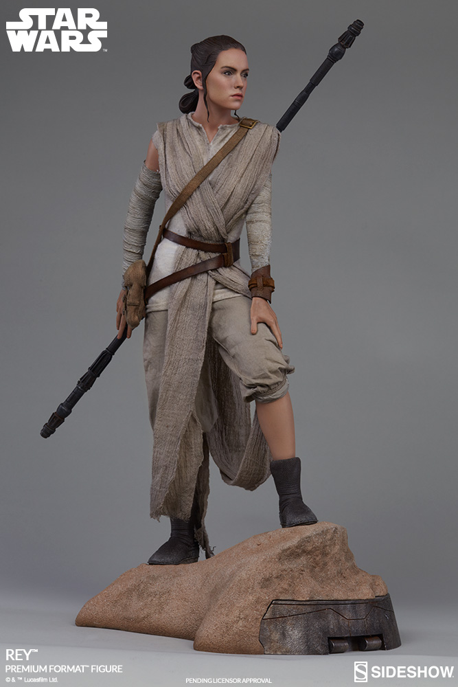 Sideshow Collectibles -Rey & BB-8 Premium Format Figure  Star-w11