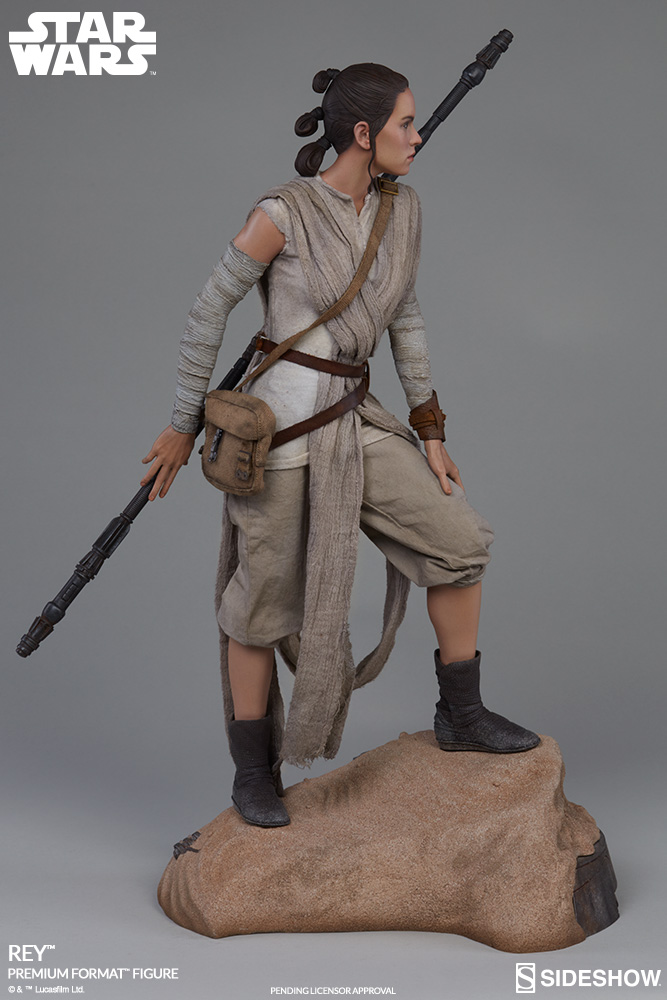Sideshow Collectibles -Rey & BB-8 Premium Format Figure  Star-w12