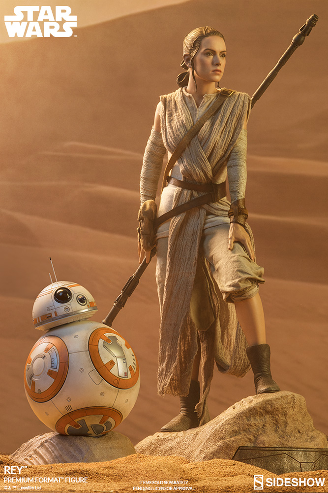 Sideshow Collectibles -Rey & BB-8 Premium Format Figure  Star-w13