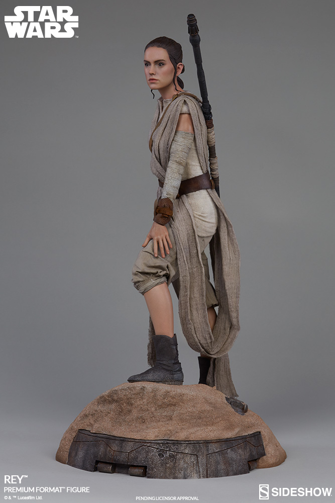 Sideshow Collectibles -Rey & BB-8 Premium Format Figure  Star-w14