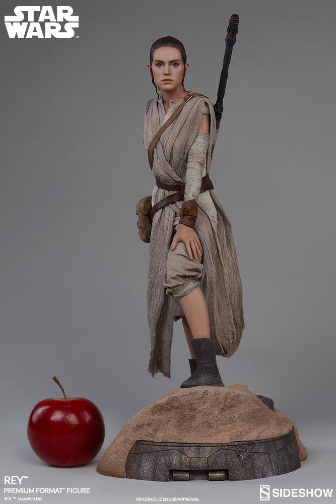 Sideshow Collectibles -Rey & BB-8 Premium Format Figure  Star-w16