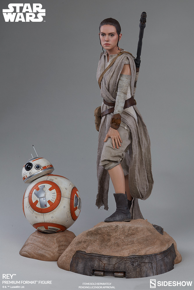 Sideshow Collectibles -Rey & BB-8 Premium Format Figure  Star-w19