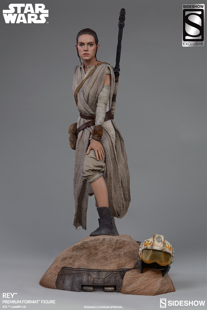 Sideshow Collectibles -Rey & BB-8 Premium Format Figure  Star-w23