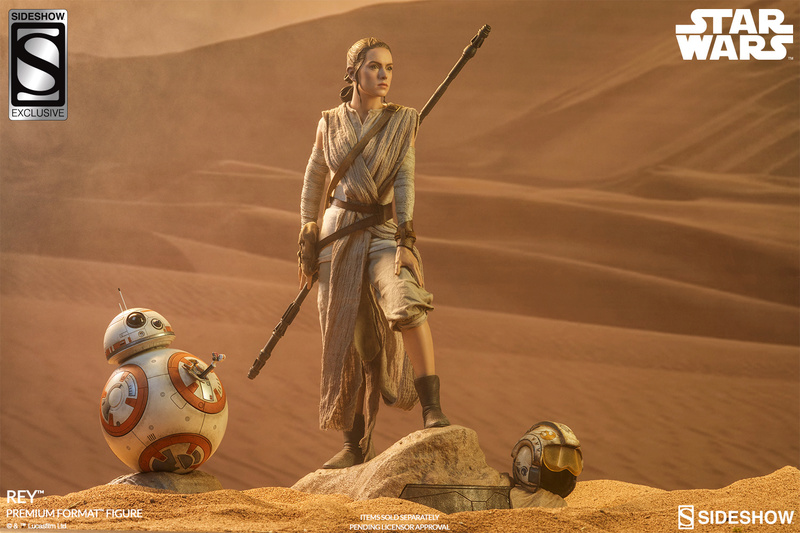 Sideshow Collectibles -Rey & BB-8 Premium Format Figure  Star-w24