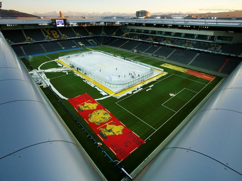 Hockey sur Glace : matchs en exterieur 07011410