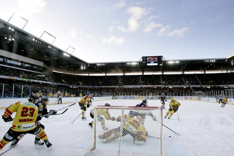 Hockey sur Glace : matchs en exterieur 15183710