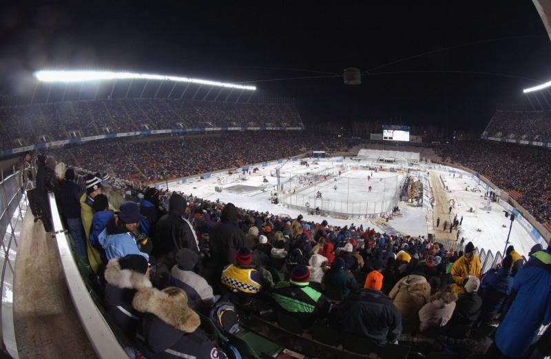 Hockey sur Glace : matchs en exterieur 2003-h10