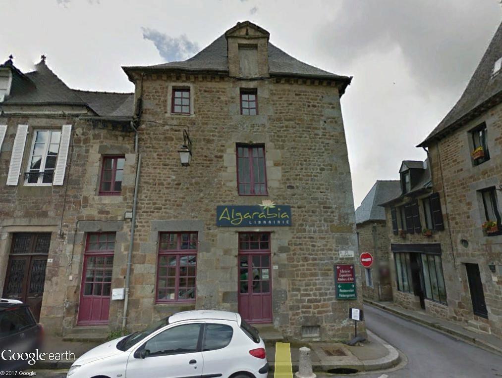 Bécherel (Ille-et-Vilaine) : 700 habitants... et quelques livres ! Algara10